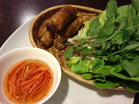 asiaway vietnamese cuisine :                   Cha Gio