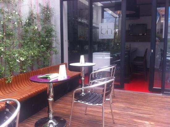 Hotel BH Parque 93:                   coffe terrace