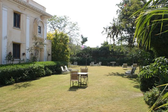 Royal Heritage Haveli: jardin