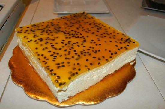 The Bakery: Passion Fruit Cheese Cake