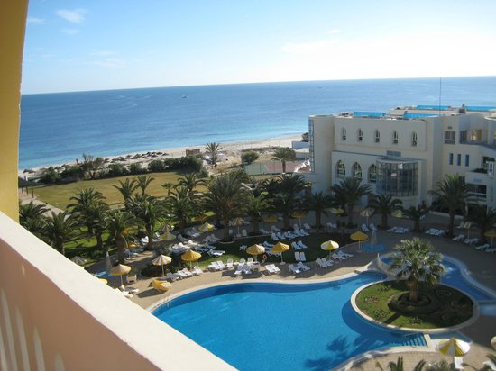 Riu Imperial Marhaba:                   View from room 475