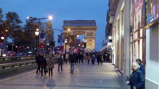 파리 메리어트 호텔 샹젤리제 사진