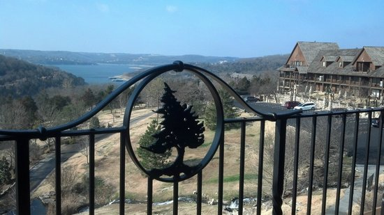 Big Cedar Lodge: View from room