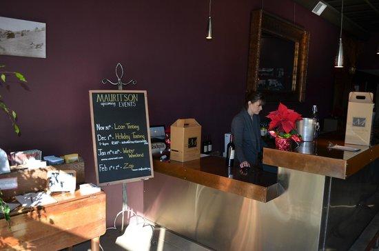 Mauritson Wines: Mauritson tasting room