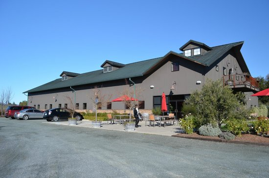 Mauritson Wines: Mauritson Family Tasting room, lovely place
