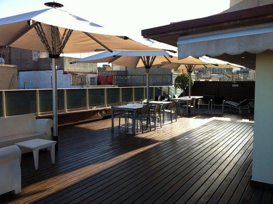 Hotel Ciutat de Barcelona: Roof