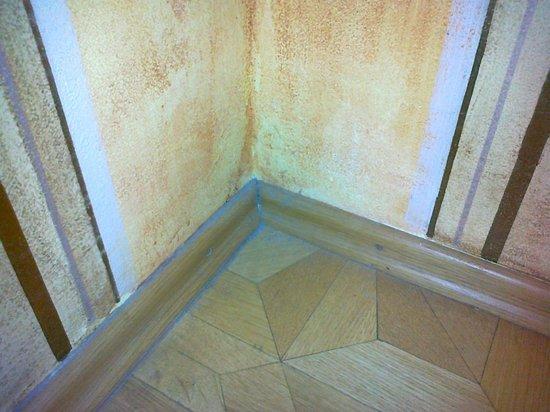 Hotel U Jezulatka:                   dust in the room corner