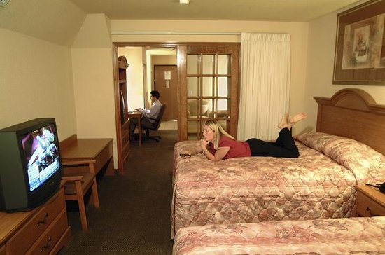 Days Inn Suites San Antonio North/Stone Oak: Two room Suites Available
