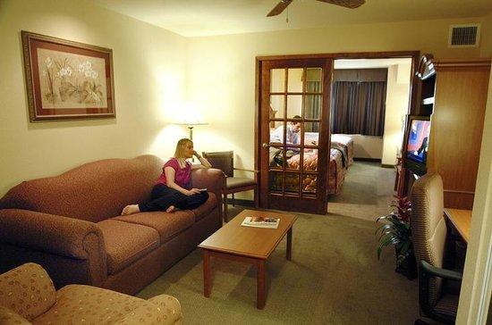 Days Inn Suites San Antonio North/Stone Oak: Suites with Living area