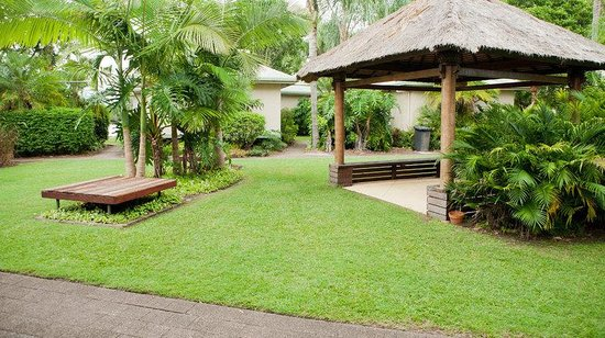 Maroochy River Resort & Bungalows: 1 brm communal area