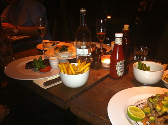 Sophie's Steakhouse - Covent Garden :                   Yummy food