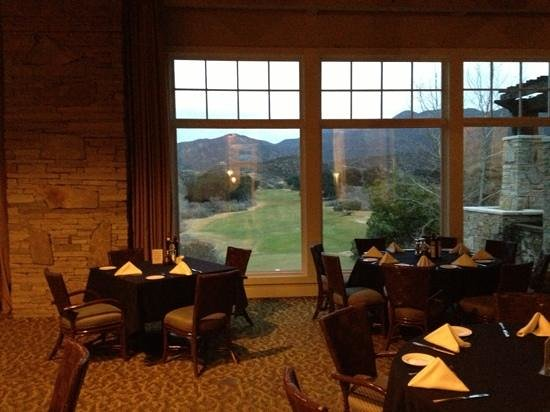 Robinson Ranch Golf Club:                   Club overlooking the course