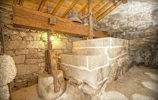 Casa da Solaina: Lagar o prensa de vino