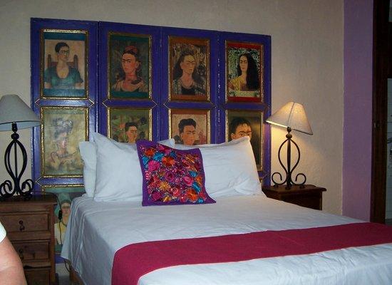 Hotel Yazmin:                   Bed in room 8