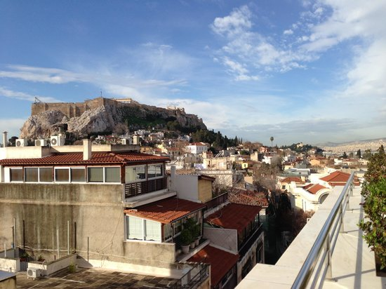 Electra Palace Athens:                   View from the balcony