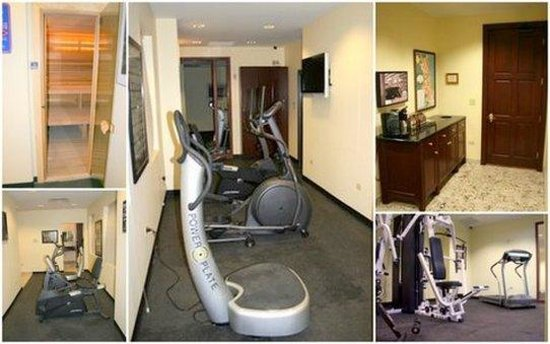 Dewitt Hotel & Suites: Health Club
