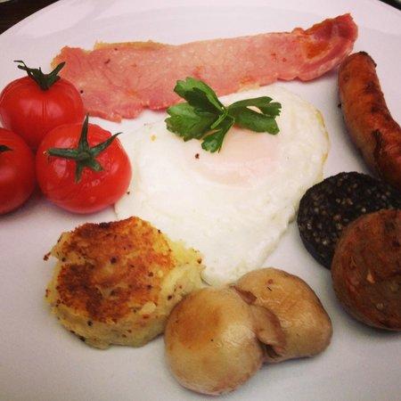 Ariel House:                   Irish Breakfast