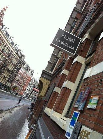 Hotel La Boheme: entrata