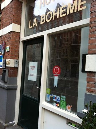 Hotel La Boheme: ingresso2
