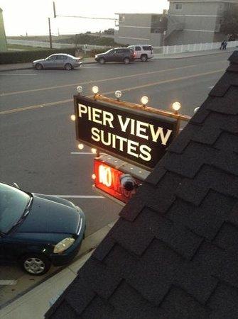 Pier View Suites:                   charming!
