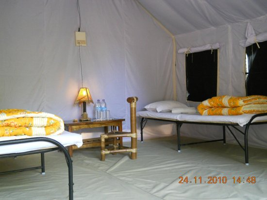 Nature Hunt Eco Camp, Kaziranga: Tent Inside