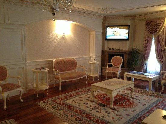 Hotel Küpeli Palace:                   lobby
