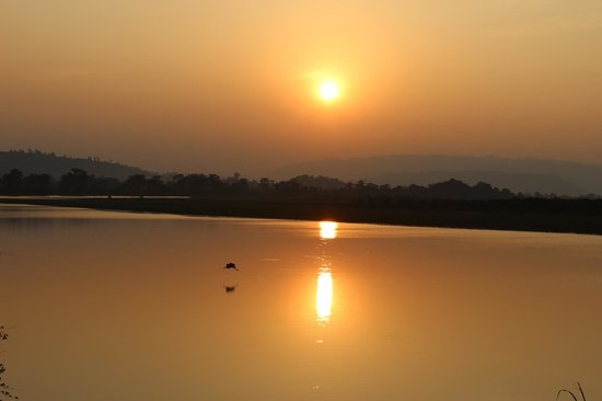 Nature Hunt Eco Camp, Kaziranga: Sunset