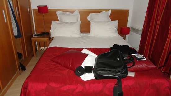Residhome Courbevoie la Défense: The beds are very nice