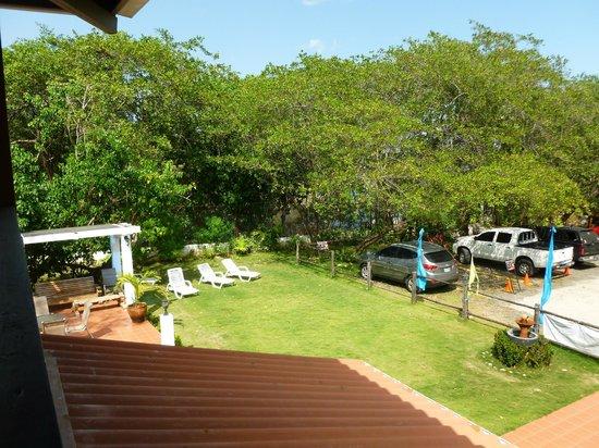 Manglar Lodge:                   Le jardin