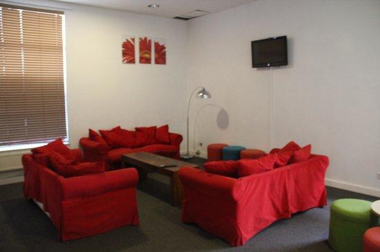 YHA Manchester:                   Lounge