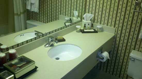 Cincinnati Marriott Northeast: Bathroom