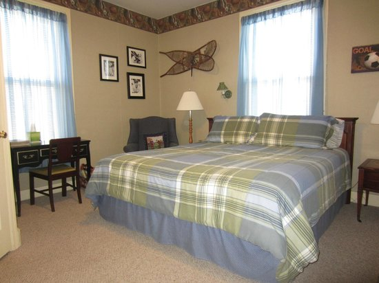 Blue Ridge Inn Bed & Breakfast: Sports Room