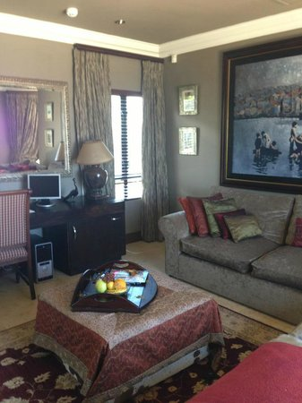 The Alexander:                   Suite's lounge