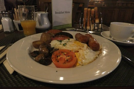 Skeffington Arms Hotel:                   full irish breakfast