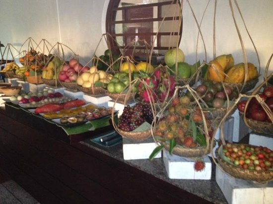 Evason Ana Mandara Nha Trang:                   Breakfast fruit selection