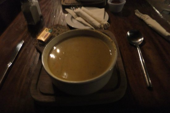 Skeffington Arms Hotel:                   soup