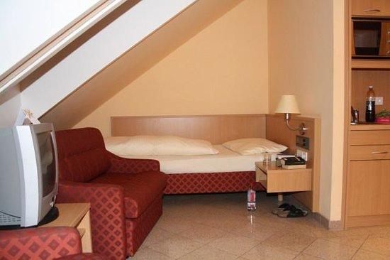Hotel Ferchenhof München: gutes Bett