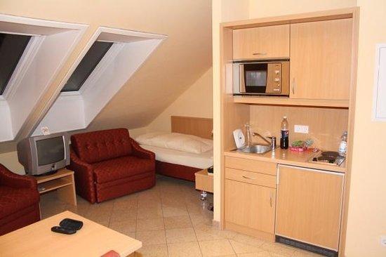 Hotel Ferchenhof Munchen:                   mit kleiner Küche