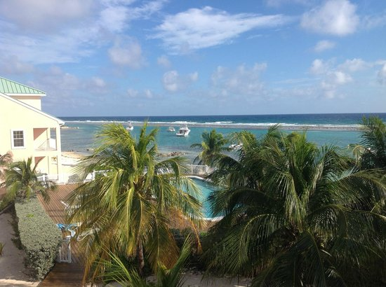 Carib Sands Beach Resort:                   View from our third floor balcony
