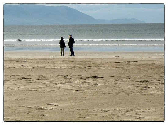 Inch Beach:                   Solitude in October