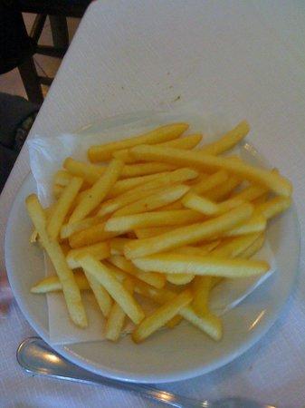 Da Antonio:                   Patatine fritte