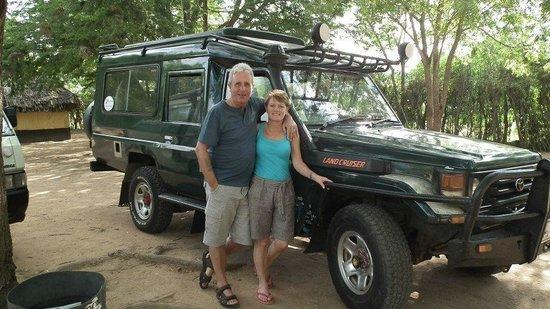 Baobab Beach Resort & Spa :                   our safari jeep