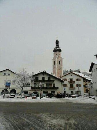Residence Mayr: campanile di Castelrotto