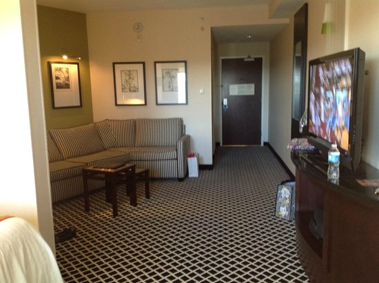 Fairfield Inn & Suites Elkin Jonesville:                   view of suite living area