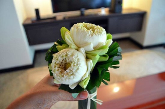The Pavilions Phuket:                   Welcome flower bouquet