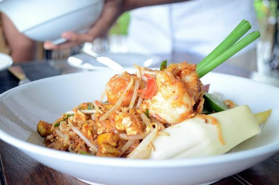 The Pavilions Phuket:                   Delicious pad thai