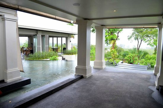 The Pavilions Phuket:                   Near one of the dining areas