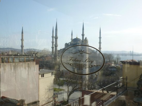Hotel Fehmi Bey:                   View from the Breakfast room