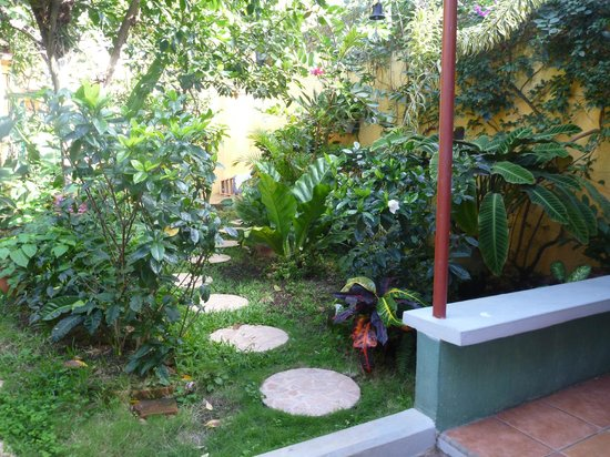 Hotel San Jose: garden