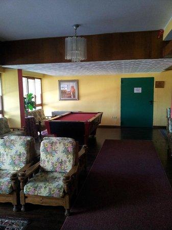 Hotel Amorocchi: sala comune  con tavolo da biliardo